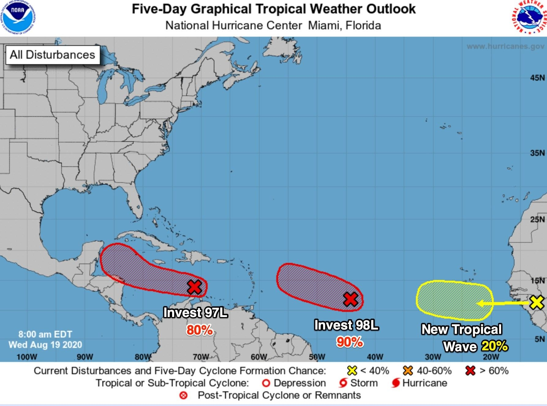 Tropical Storm In 2020 Tropical Storm National Hurricane Center Tropical