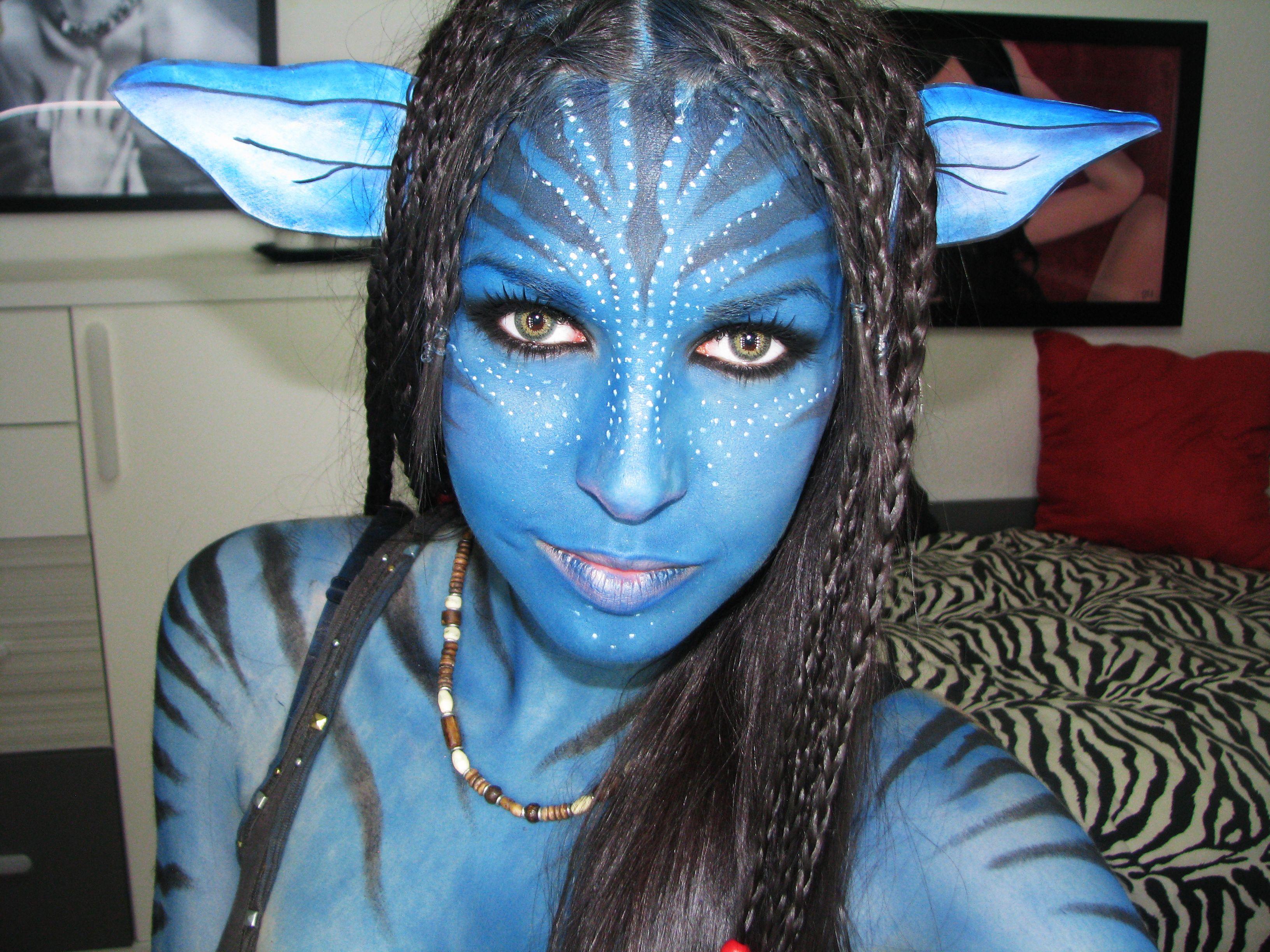 avatar makeup - Sök på Google   Inspiration   Pinterest ...