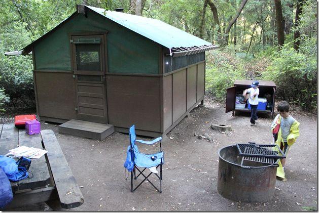 Tent Cabins At Big Basin