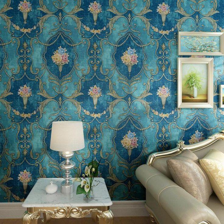 Highend Luxury European Nonwoven Wallpaper Large
