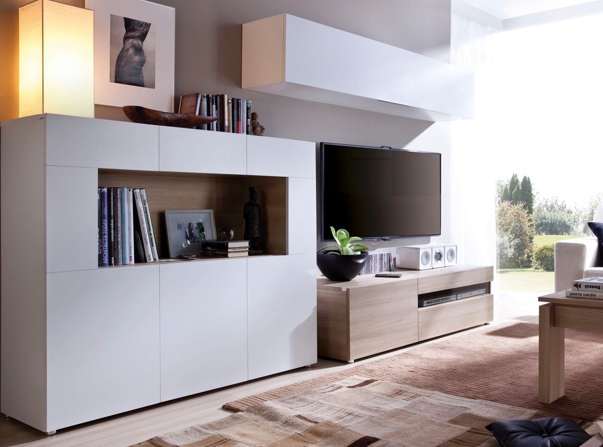 Muebles Mas Baratos - Muebles De Salon Salones Modernos Muebles Baratos Tiendas De [mjhdah]https://www.ahorrototal.com/2760317-thickbox_default/mueble-de-salon-el-mas-barato-de-estilo-moderno-220-cm-wengue-ferrara-blanco.jpg