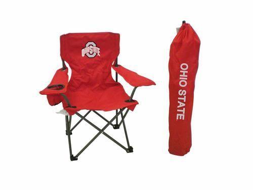 Ohio State University Buckeyes Kids Outdoor Folding Chair