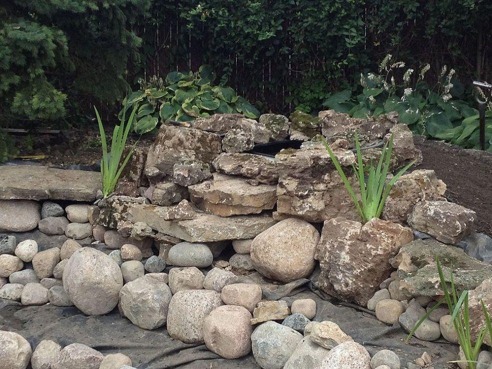 Hometalk :: Burbank, IL Pond Renovation Installed by Gem Ponds