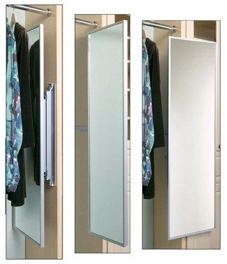 Superior The Invention Of The Pull Out Mirror For Closets Is One Of The Best
