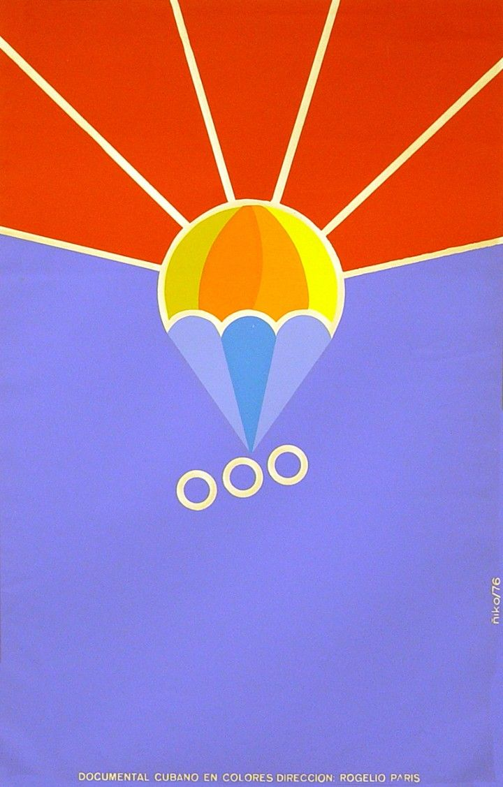 "Spanish movie Poster 4 French film/""Sky MENACE/""Minimalistic art.Yves Ciampi.Decor"