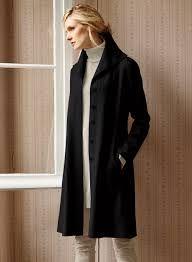 4a8f045ab36 Halden Alpaca Felted Coat (Peruvian Connection) black | Juliet's ...