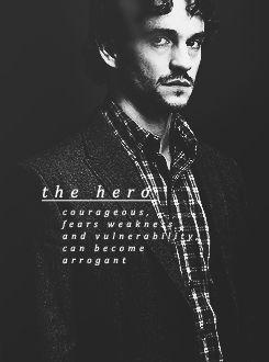 The Hero. Hannibal. Will