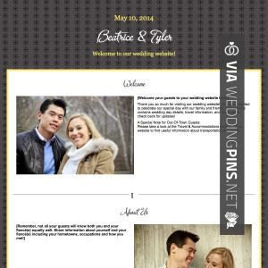 How To Write Our Story For Wedding Website Personal Wedding Website Wedding Website Free The Knot Wedding Website