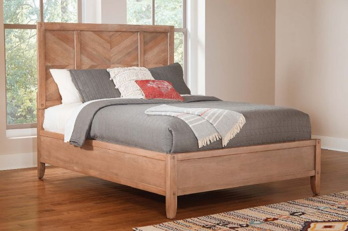 Scott Living Auburn Rustic California King Bed Coaster 204611kw Natural Wood Bed Panel Bed Bed