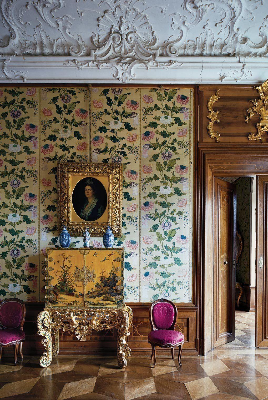 Neue wohnzimmer innenarchitektur palaces ets  wow  pinterest  rokoko neue wege und dekor