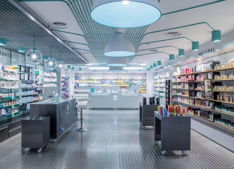 Reforma Farmacias Modernas Pozuelo Madrid 6 Diseno De Farmacia