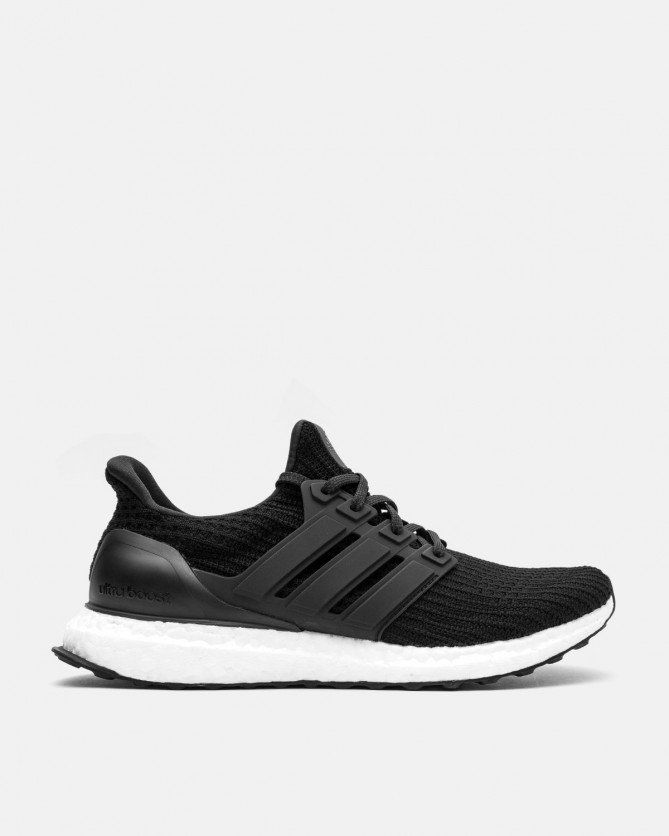 sports shoes 08b3a d9165 adidas - Ultra Boost 4.0 (Core Black   White   Core Black) Front