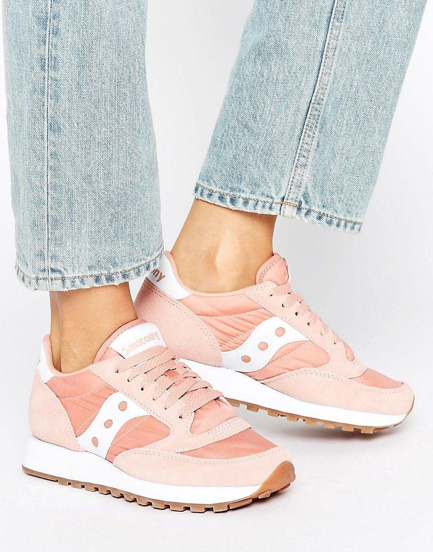 famoso marchio di stilisti ordine carina Saucony Exclusive Jazz Original Sneakers In Pink & White - Pink ...