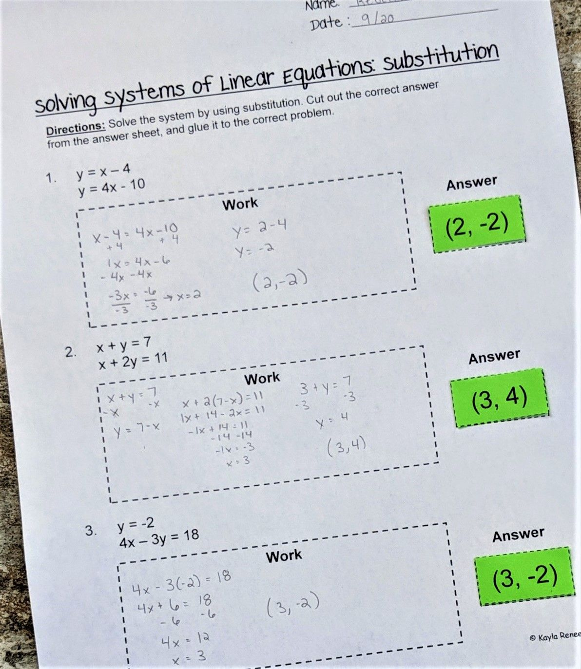 Pin On Teaching Expressions And Equations