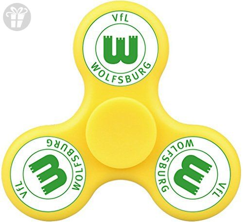 MEI SH VfL Wolfsburg Finger Spinner Anxiety Stress Relief Toy For