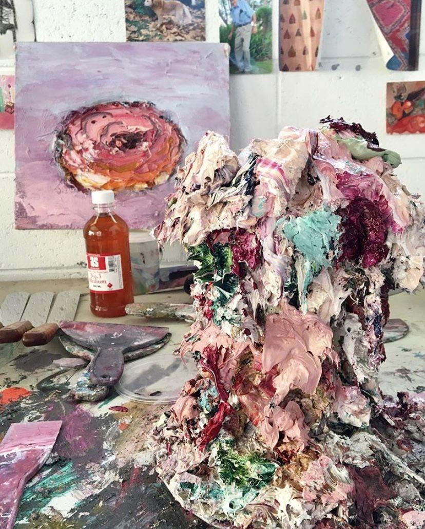 #art #sculpture #aesthetic #portrait #contemporaryart #studiolife