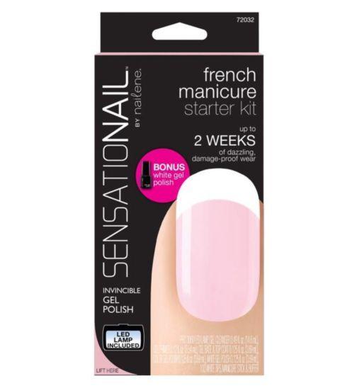 Nail Art Kit Boots: SensatioNail Starter Kit French Manicure - Boots