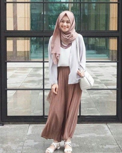 47 Combination Tricks Hijab Vintage For Women Gaya Berpakaian Model Pakaian Model Pakaian Hijab