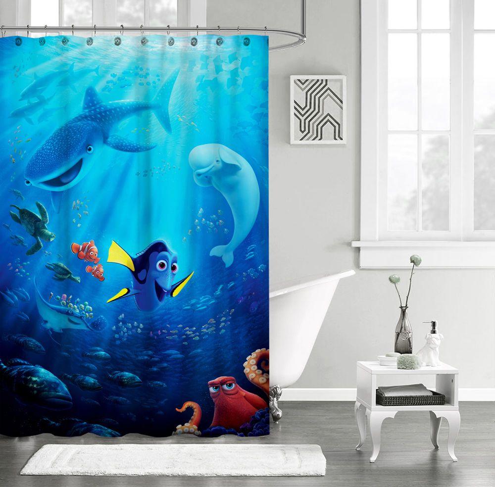 New Finding Dory Custom Shower Curtain 60\