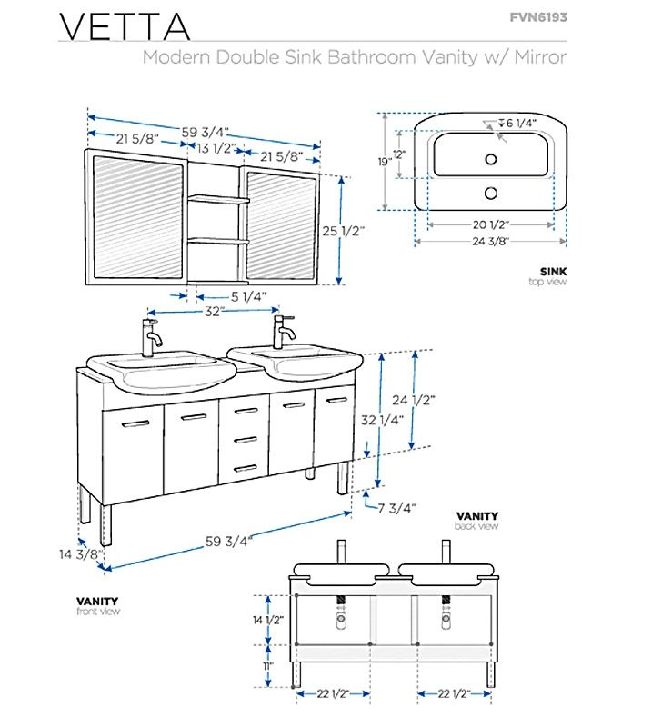 Pin By Long Hoang Van On For Me Only Bathroom Dimensions Bathroom Vanity Sizes Bathroom Vanity