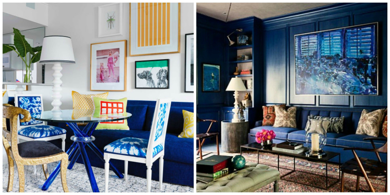Beautifulwhitebluewooduniquedesignblueinteriortrend Prepossessing Blue Color Living Room Designs Decorating Inspiration