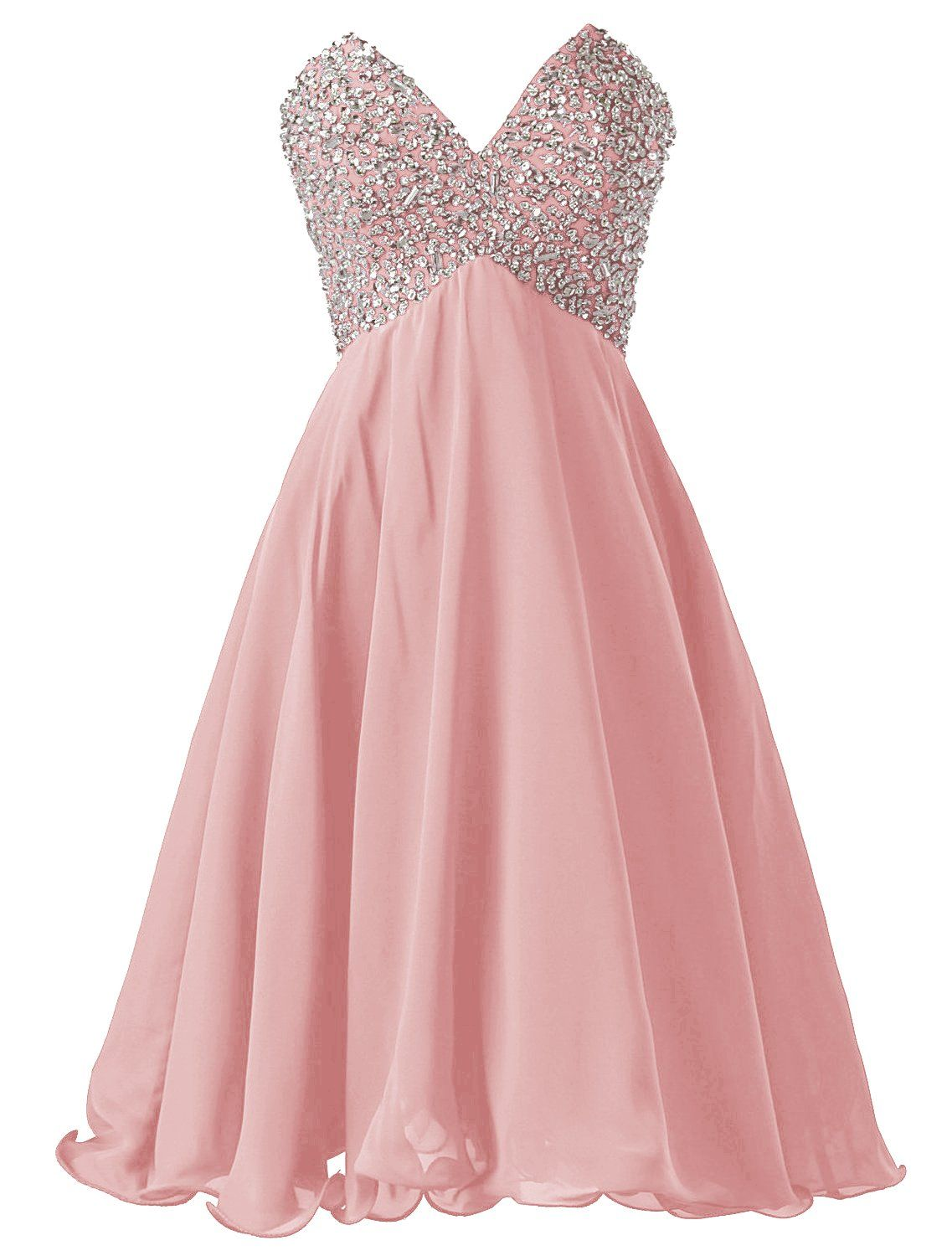 90342d4d928 Dressystar Short Graduation Homecoming Dress Beaded Prom Cocktail Dresses  Lace-up