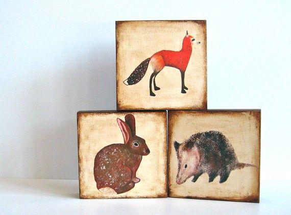 Art block trio