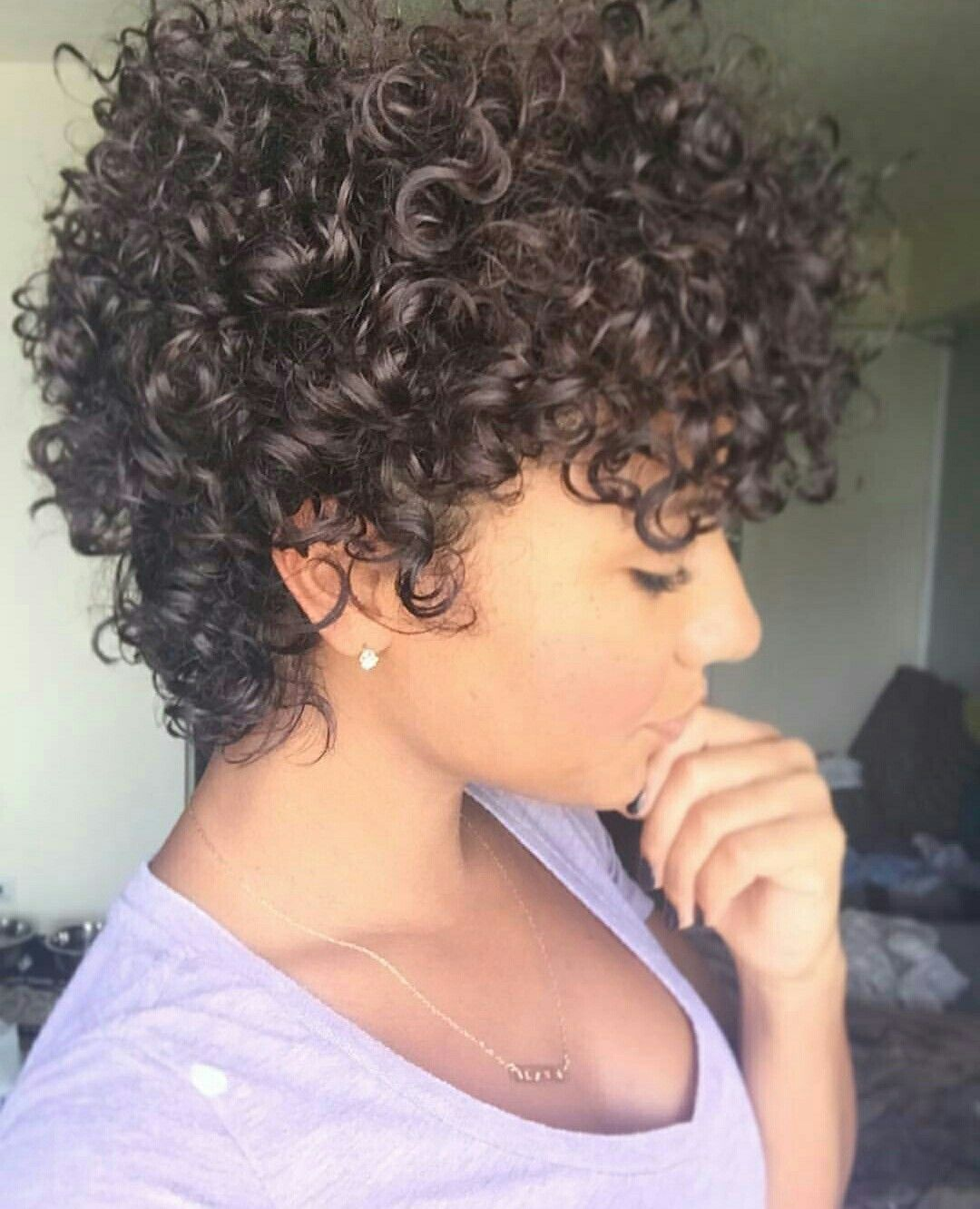 Short Hair Perm Flhairbylo Avedaibw Inspo In 2019 Curly
