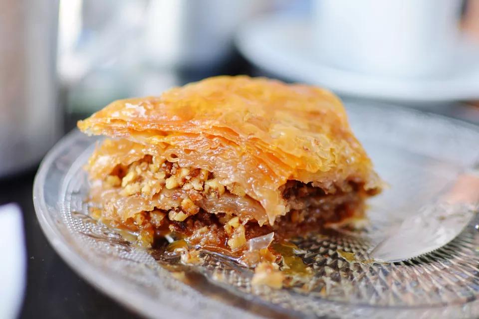 Gastrin Recipe - Ancient Version of Baklava | Greek recipes, Greek desserts, Baklava recipe
