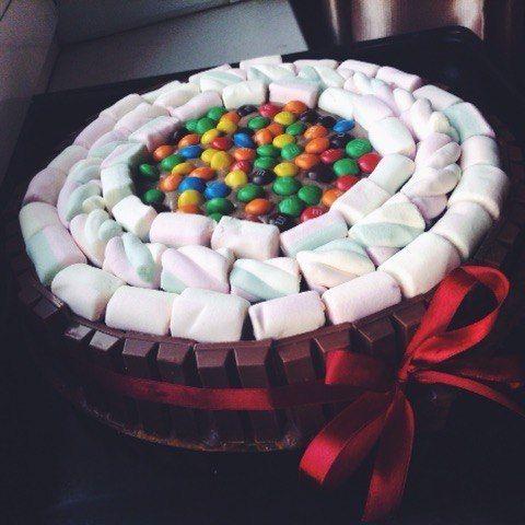Торти з маршмелоу фото