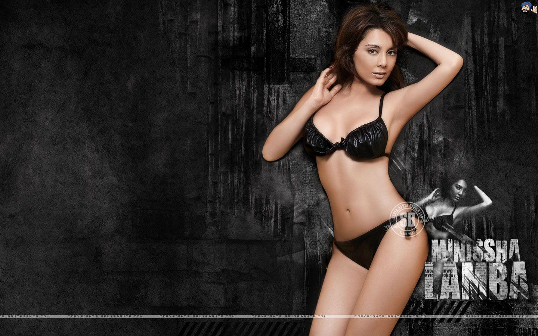 Bikini pics of manisha lamba really. was