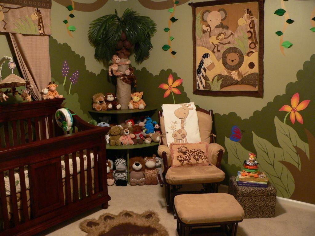 Wow.. crazy nursery! | Jungle theme nursery, Nursery ...