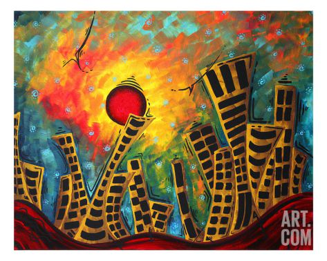 Glimmer Of Hope Giclee Print by Megan Aroon Duncanson at Art.com