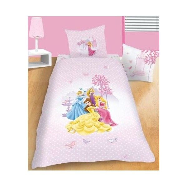 Housse de couette disney princess summer place avec taie d co disney princess pinterest - Housse de couette princesse disney ...