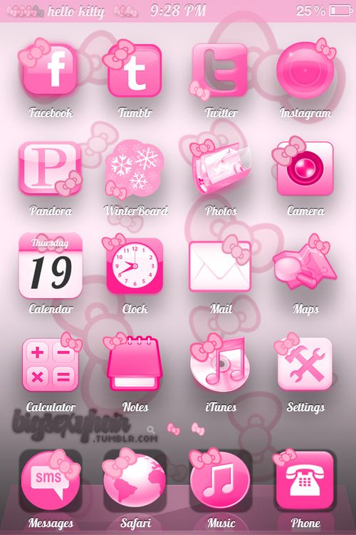 How do I get these hello kitty icons   77164dd104e22