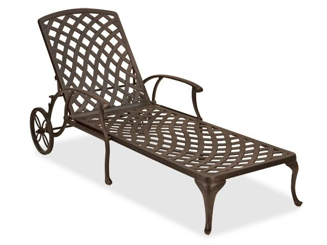 1656162.php | Chaise Lounges | Outdoor Patio Furniture | Chair King Backyard Store  sc 1 st  Pinterest & Tivoli Cast Aluminum Chaise Lounge | Chaise lounges Backyard and Patios