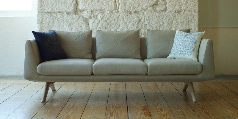 De La Espada hepburn sofa by matthew hilton