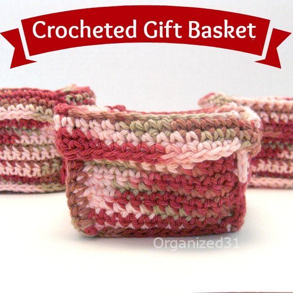 Easy Crocheted Basket