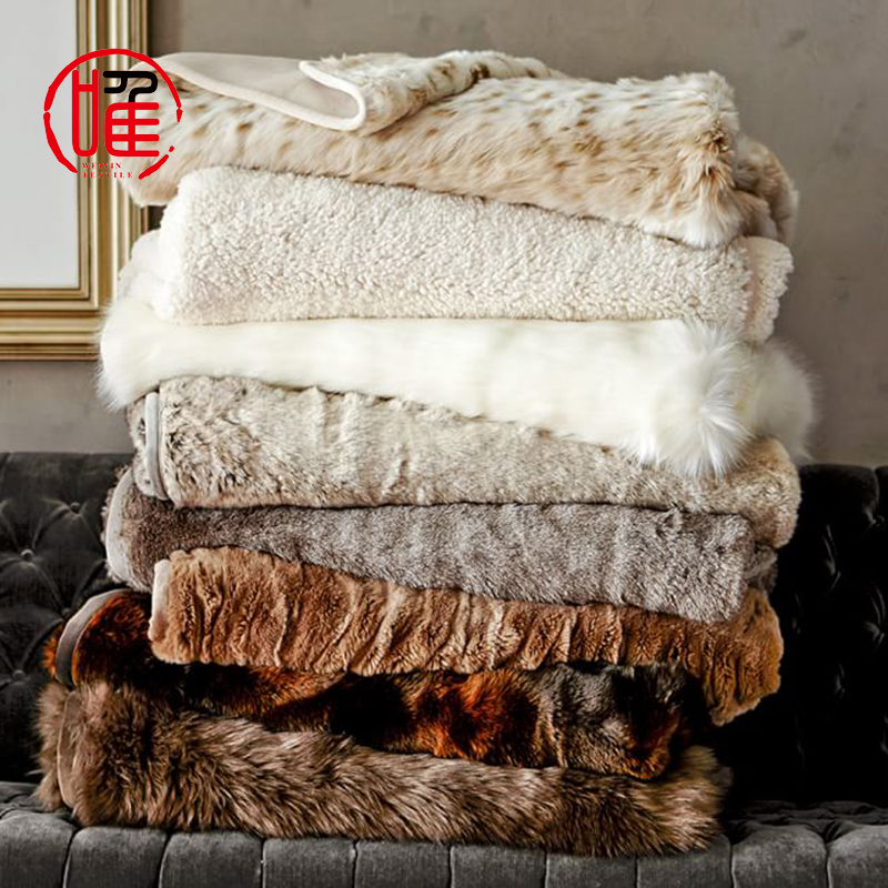 Wholesale Super Soft Extra Cozy Luxury Rabbit Faux Fur Throw Blanket For Couch Buy Faux Fur Blanket Faux Fur Throw Blanket Fur Blanket Product On Al