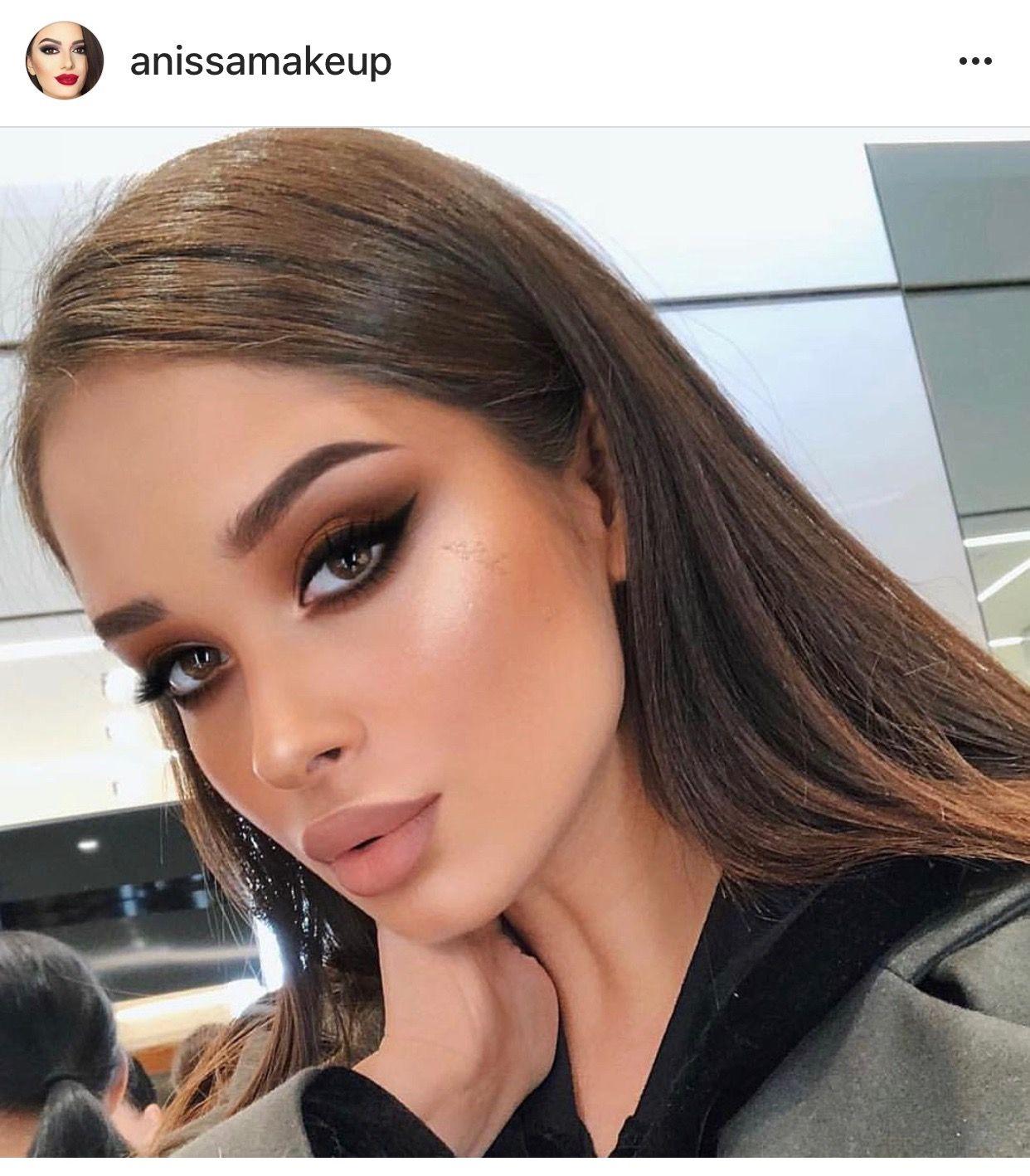 pinterest // amyysin Hair makeup, Glam makeup, Makeup looks