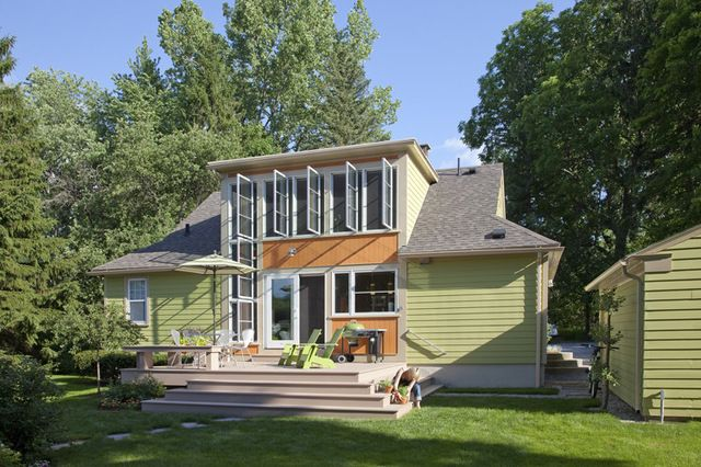 Contemporary Exterior By Burr U0026 McCallum Architects. Adding To Upstairs  With More Than A Dormer