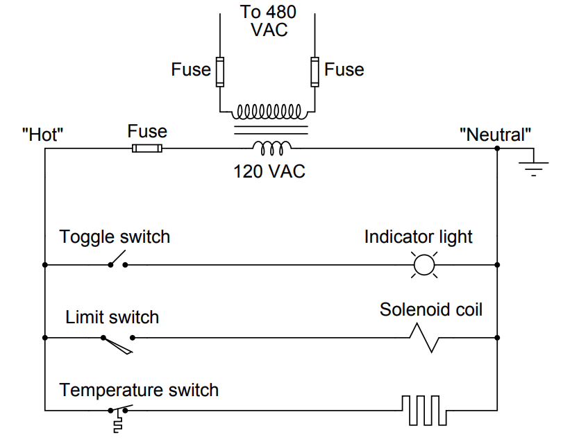 How To Draw A Schematic Diagram Diagram Indicator Lights Safety Fail