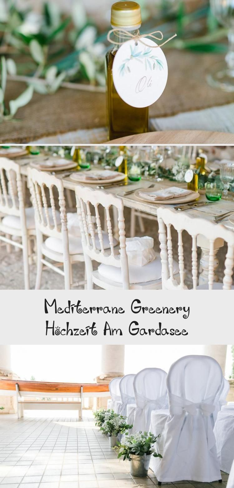 Mediterrane Greenery Hochzeit Am Gardasee Table Decorations Decor Furniture