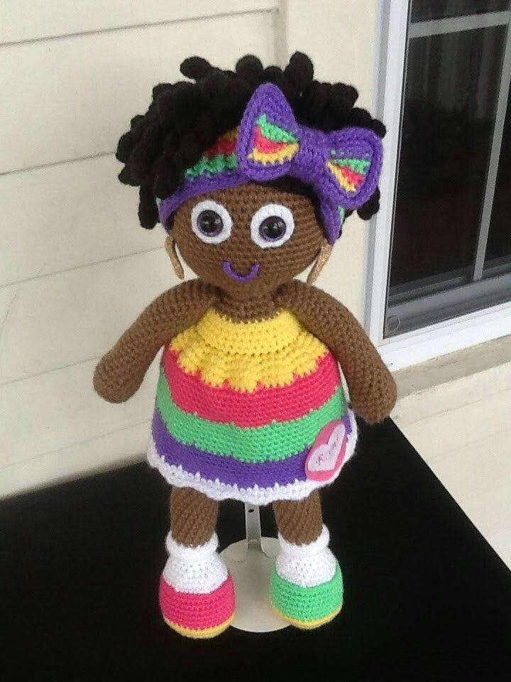 Crochet doll | muñecos | Pinterest | Muñecas, Patrones amigurumi y ...