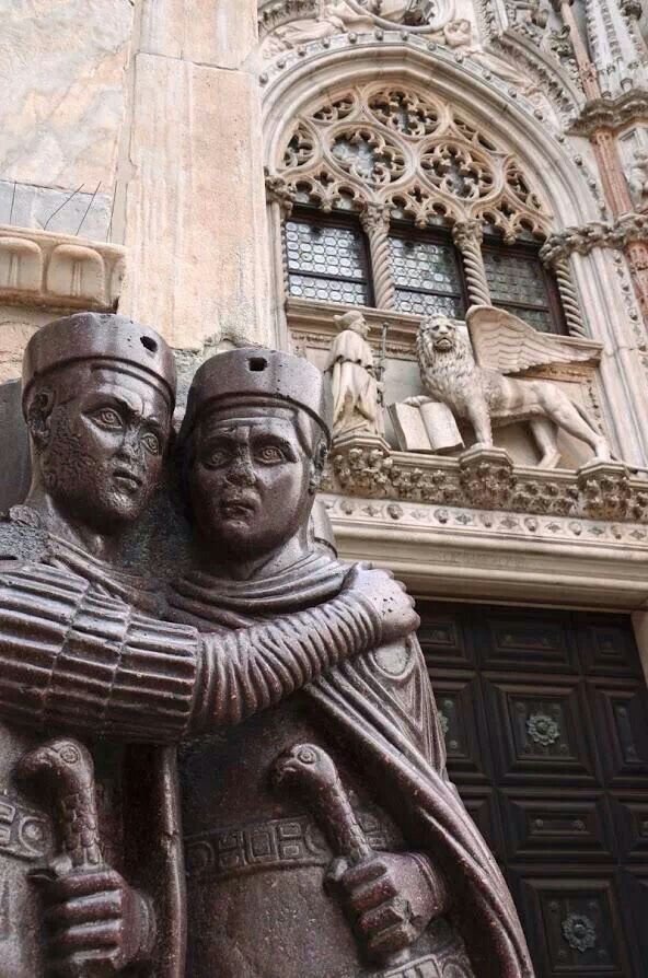 Monumento ai tetrarchi, Venezia, Piazza San Marco. | Basilica di San ...
