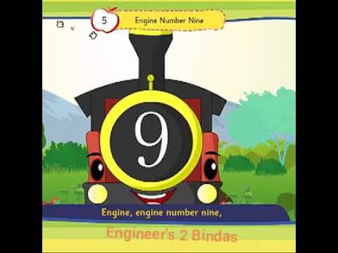 engine number nine nursery rhyme for kids nursery rhyme for kids