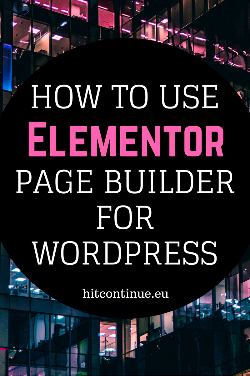Building a website is easy with elementor page builder for wordpress-- Maddy Osman, aka The Blogsmith, shares lessons learned about freelancing, ...