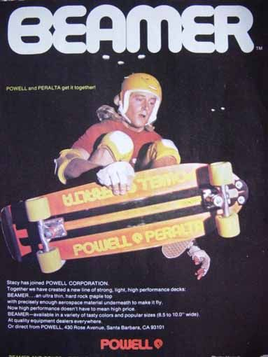 Stacy Peralta Skateboard ad