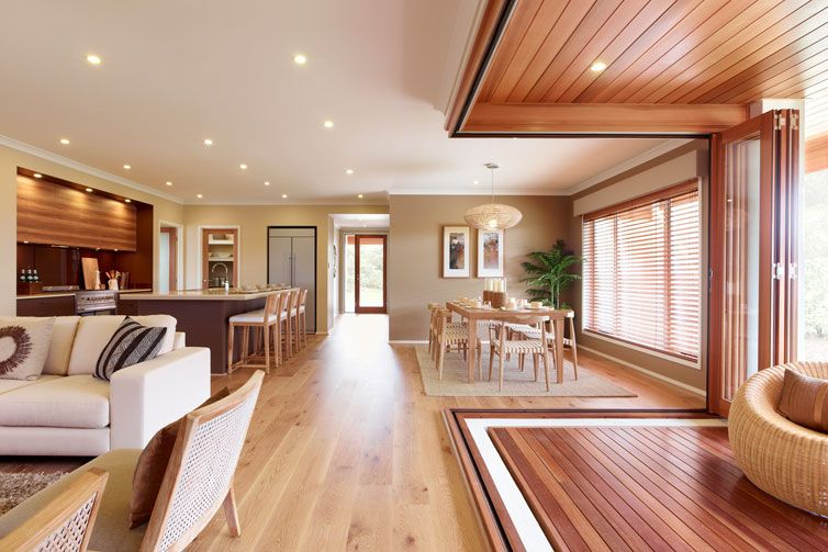 Henley carmelle series Living, lounge, dining and alfresco ...