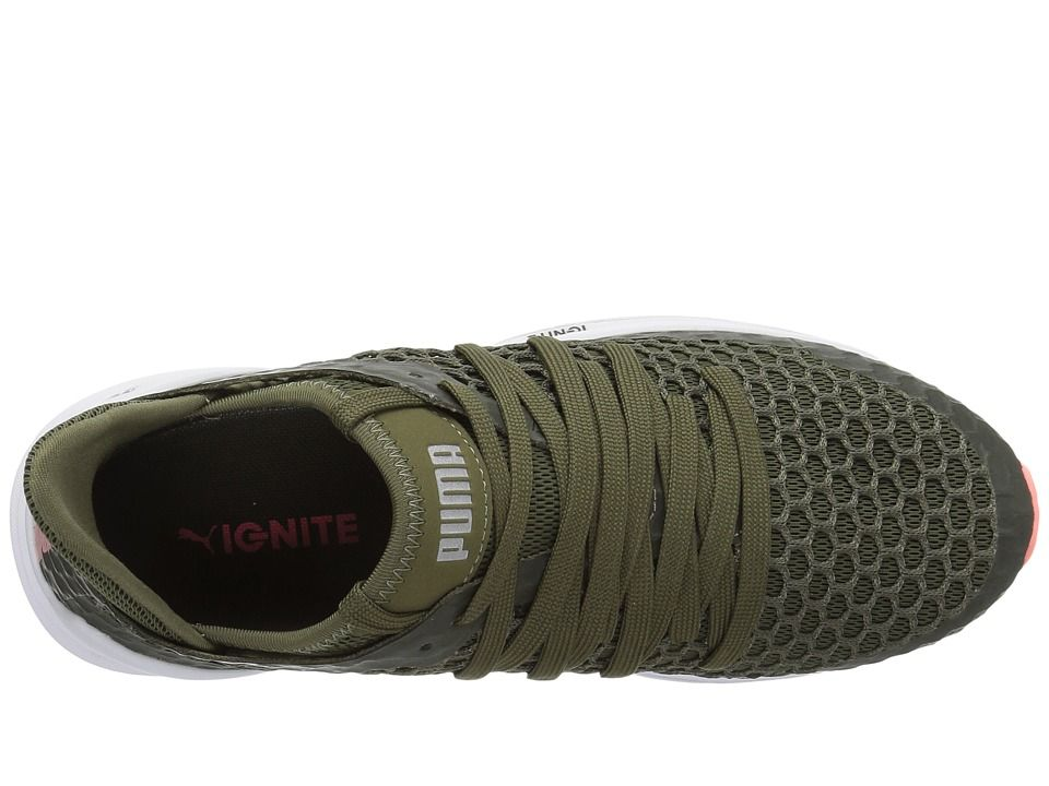 san francisco b5d08 3fd92 PUMA Ignite Limitless Netfit Women's Shoes Olive Night/Nrgy ...